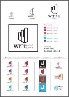 WIT Music School Branding on Behance