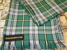 Cape Breton Plaid~Green Yellow Men's Fringe Scarf~Custom make Fringe Scarf Mens Fringe, Fringe Scarf, Plaid Scarf, Cape Breton, Long Fringes, Long Scarf, Tartan, Custom Made, Scarves