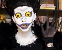How to Become Ryuk from Death Note for Halloween « Halloween Ideas
