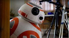Make your own life-size BB-8 droid for $120. #bb8 #droid #starwars