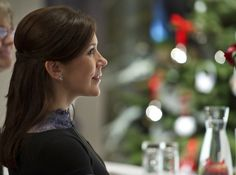 Crown Princess Mary at the Christmas Stamp unveiling in 2010.