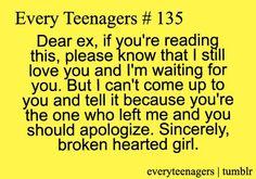 Dear Ex-Boyfriend...