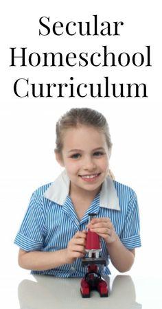 Secular Homeschool Curriculum {Homeschooling, Unschooling, Parenting}