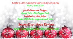 """Our brand new """"Santa's Little Authors Christmas Giveaway"""" is up and running. Come and enter for a chance to win $160 Paypal Cash and many other prizes. 📚🎉🎁💰"""