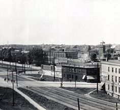 Reed House at North Park Row and French Street, 1912 (Contributed by Joseph Wykoff)