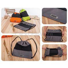 MX - Gym Drawstring Backpack Travel Swimming School Beach Sport Storage Bag Backpack
