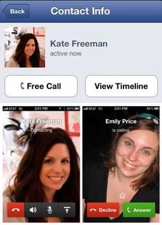 Call your friends for FREE using Facebook's Messenger app.