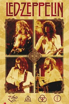 led zeppelin  poster | Led Zeppelin Band Poster | Music, movies, television and books...ones ...