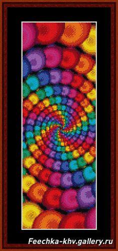 Solo Patrones Punto Cruz | Aprender manualidades es facilisimo.com Cross Stitch Bookmarks, Cross Stitch Charts, Cross Stitch Designs, Cross Stitch Patterns, Plastic Canvas, Fractal Patterns, Fractal Design, Melting Beads, Pattern Pictures