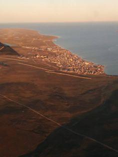 flights from nunavut to greenland