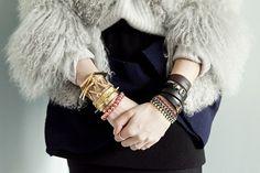 Funky wristwear