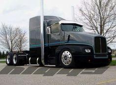 "Custom Kenworth the Line"", pinned by Ton van der Veer. Show Trucks, Big Rig Trucks, Custom Big Rigs, Custom Trucks, Freightliner Trucks, Peterbilt 379, Truck Paint, Trucks And Girls, Heavy Truck"