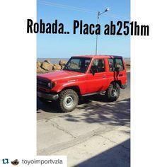 #Repost @toyoimportvzla with @repostapp.  ACABAN DE ROBAR Machito roja año 95  placa AB251HM en la clinica metropolitana domingo 9pm YA YA YA  diego bortolazzo telefono 04122791616 by arq4wd