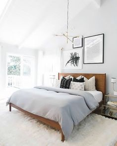 Neutral spring bedroom perfection   Simple Bedroom Updates for Spring   Musings on Momentum