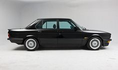E28 BMW M5 with Euro treatment. Clean.