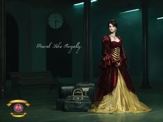 """""""Travel like royalty. South India's only luxury train. The Golden Chariot.""""  Adertising Agency: Stark, Bangalore, India"""