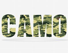 """Check out new work on my @Behance portfolio: """"Camo letters"""" http://be.net/gallery/36398423/Camo-letters"""
