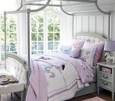 Pottery Barn Kids' bedroom furniture is designed for quality and safety. Shop kids furniture to decorate with your personality and theirs. Tufted Bed, Upholstered Beds, Kids Bedroom Furniture, Furniture Sets, Furniture Stores, Grey Furniture, Furniture Websites, Furniture Dolly, Furniture Market