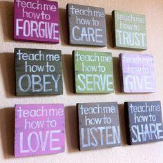 good idea for church or kids room