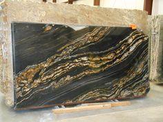 Black Fusion Granite Slab 30020