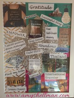 Amy Shellman – Passionately Happy and Fit: Why make a Vision Board? Amy Shellman – Passionately Happy and Fit: Why make a Vision Board? Goal Board, Creating A Vision Board, Visualisation, Goal Planning, Law Of Attraction, How To Plan, How To Make, Scrapbooking, New Jersey