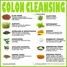 Natural Colon Cleanse Foods List