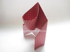 Easy Origami Basketball Hoop