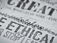 Hand Rendered Design Manifesto  by Pete Adams