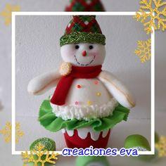 Christmas Crafts, Christmas Decorations, Christmas Ornaments, Holiday Decor, Cute Snowman, Snowmen, Fabric Wreath, Soft Sculpture, Amelia