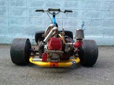 Motorized Drift Trike (Spoon95 concept)