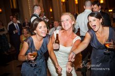 Reception at Peabody Opera House. Kerrie and Patrick wedding photos, Saint Louis, 2012. Photo by eloquentmoments.com