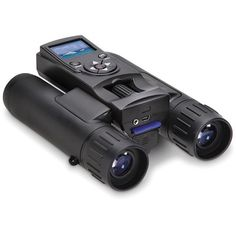 The Best Digital Camera Binoculars - These digital camera binoculars earned The Best rating from the Hammacher Schlemmer Institute because they provided the sharpest magnification and took the most vibrant photos. Techno Gadgets, Spy Gadgets, Electronics Gadgets, Cool Gadgets, Amazon Gadgets, Cool Technology, Technology Gadgets, Digital Technology, Futuristic Technology