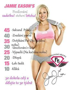Body Fitness, Health Fitness, Weight Loss Tips, Lose Weight, Jamie Eason, Gaines, Excercise, Pilates, Health And Beauty
