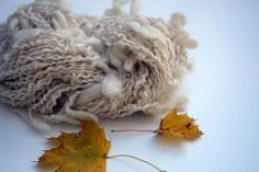 Alpaca and Kid Mohair Handspun Supercoil by uniquedesignsbykathy, $86.00