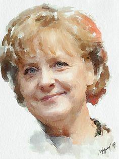 #303 Angela Merkel by piker77, via Flickr