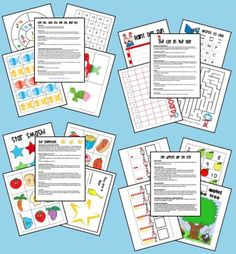 Do You Like Free Lesson Plans? I Do, I Like Them, Sam I Am! - pinned by @PediaStaff – Please Visit  ht.ly/63sNt for all our pediatric therapy pins