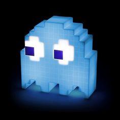 BLOG DOS BRINQUEDOS: Pac-Man USB Ghost Lamp