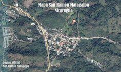 Map of San Ramon, Matagalpa