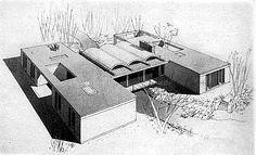 "Mid-Century Modern ""Bridge House"" By JohnJohansen"