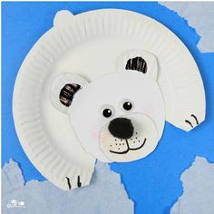 Easy addition to your study of arctic animals for kids is this fun polar bear craft! This is great for your habitats unit study in your winter classroom. The post Polar Bear Paper Plate Craft appeared first on Easy Crafts. Kids Crafts, Animal Crafts For Kids, Winter Crafts For Kids, Easy Crafts, Creative Crafts, Kids Diy, Decor Crafts, Winter Preschool Crafts, Preschooler Crafts