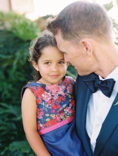 A sweet little flower girl: http://www.stylemepretty.com/2015/09/02/romantic-lahaina-beach-wedding/   Photography: Wendy Laurel - http://www.wendylaurel.com/