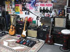 My dream band-practice room.