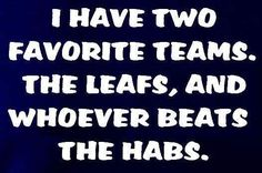 ...or the Canucks....