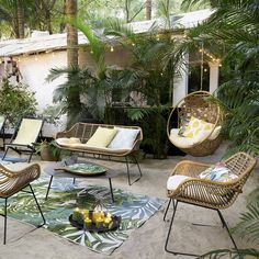 34 meilleures images du tableau chaises rotin | Rattan dining chairs ...