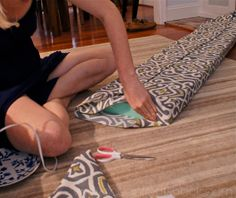 DIY Bench Cushion | for our window seats