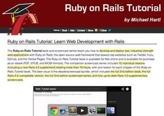 ruby-on-rails-learning-websites