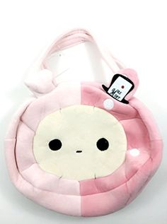 Sentimental Circus Pink Shappo Plush Hand Tote Bag Purse -- Details can be found by clicking on the image.