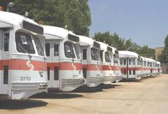 Philadelphia SEPTA PCCs in storage. Maybe Washington DC could purchase one or two and repaint in DC Transit scheme to run on their new streetcar line.