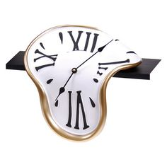 Classic Shelf Clock  (Alice in Wonderland style)