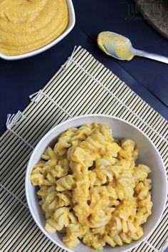 Se apetecer algo com queijo, mas mais saudável, experimenta a massa com molho de queijo vegano! É maravilhoso! #mac&cheese #vegan #cheese #sauce #cheap #economic #recipes